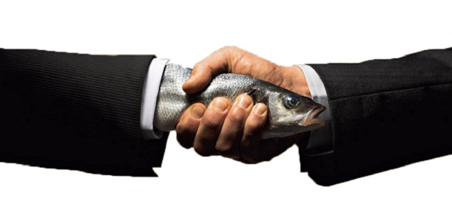 Is your handshake more of a Limp Fish or Bone Crusher?