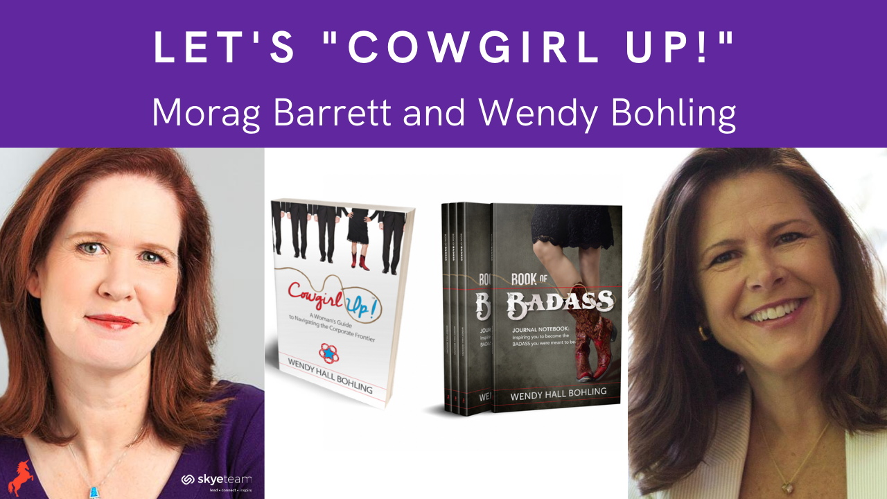 It's time to saddle up and Cowgirl Up! with Wendy Hall Bohling